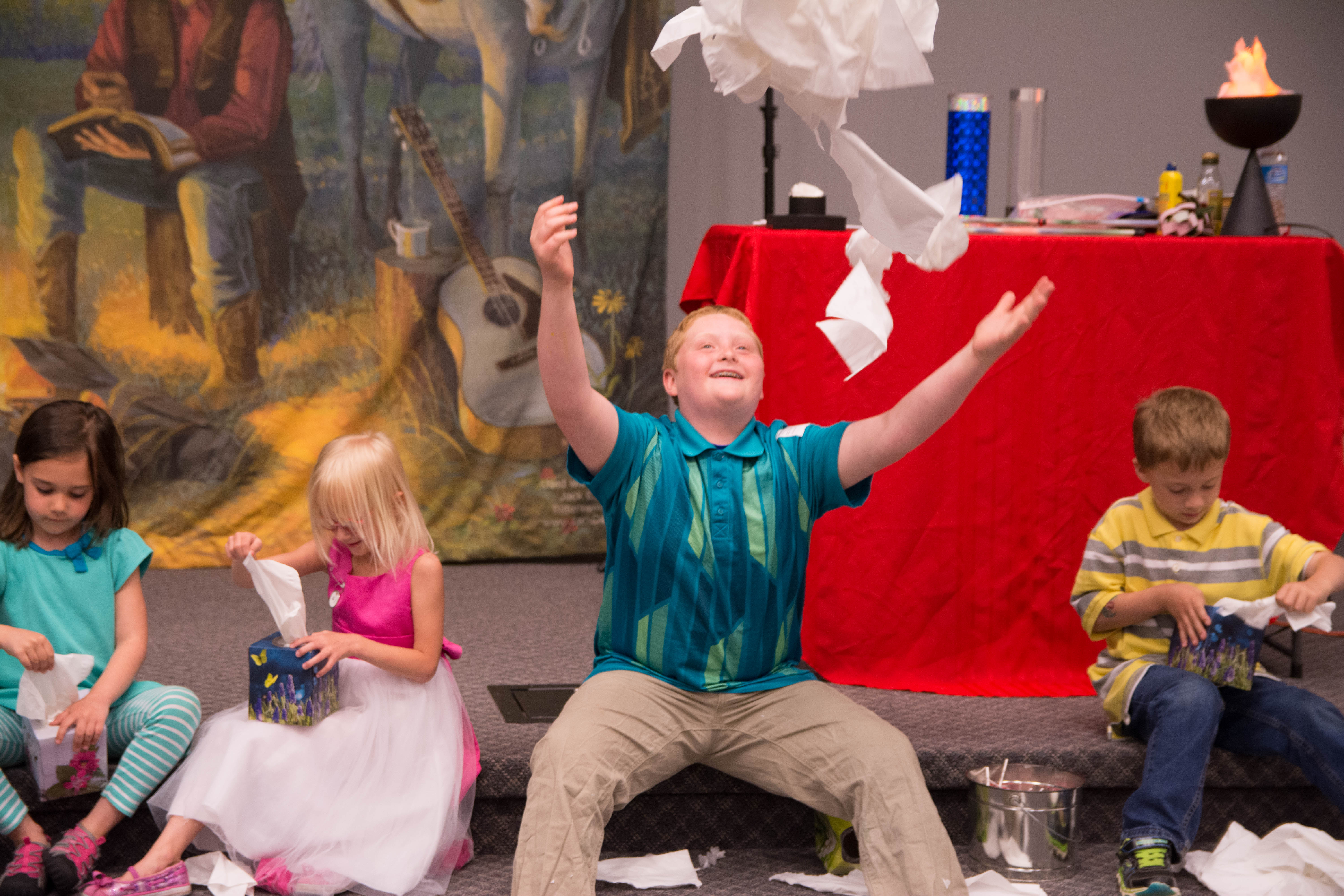 Children's Revivals and Crusades   Revival Fire For Kids