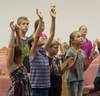 Children Worshiping