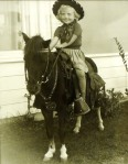 Becky-on-horsey